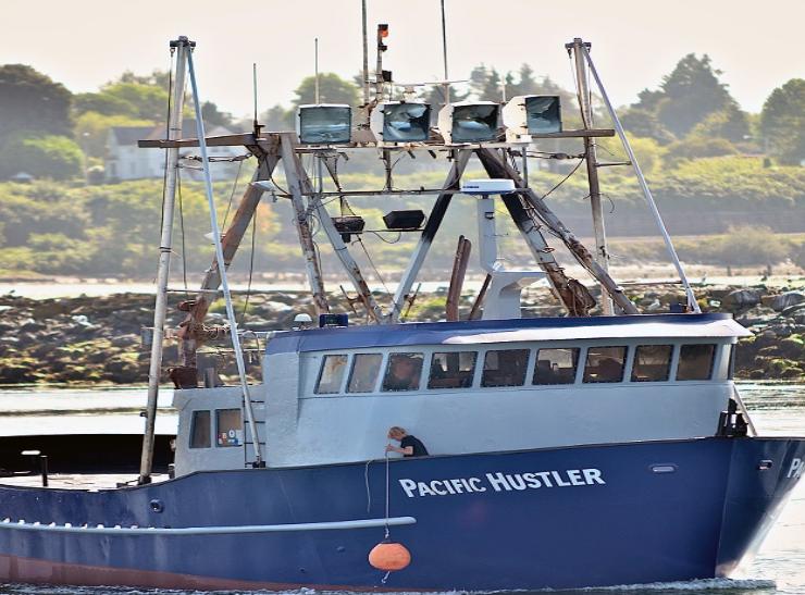 Pacific Hustler Boat Vessel Sound Leader Seafoods in Bellingham, Washington
