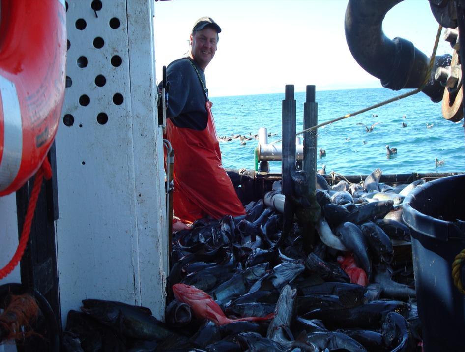 Allen Oakley of Sound Leader Seafoods