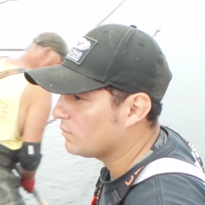 crew member of Sound Leader Seafoods working