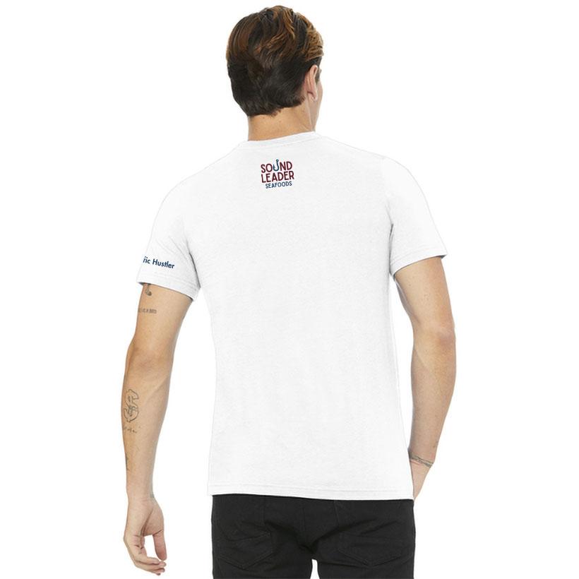 Back of Shirt for Sound Leader Seafoods